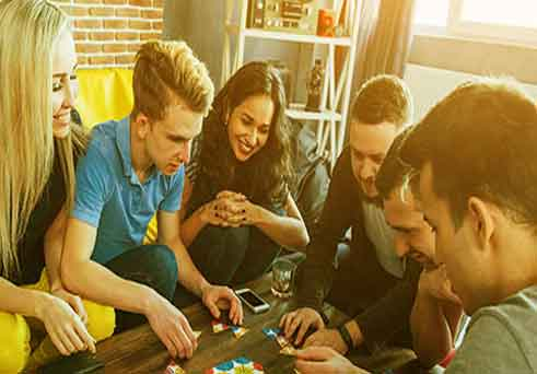 Games to play with family without anything
